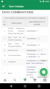 Tanvi Herbals- screenshot thumbnail