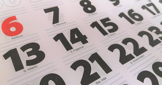 Calendario laboral 2021: estos son los días de fiesta en Almería