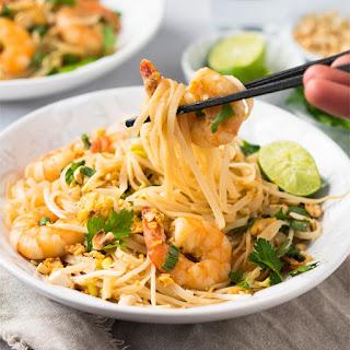 Keto Pad Thai With Shirataki Noodles.