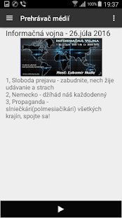 InfoVojna player- screenshot thumbnail