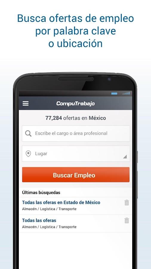 Computrabajo ofertas de empleo aplicaciones de android - Ofertas de empleo en navarra ...