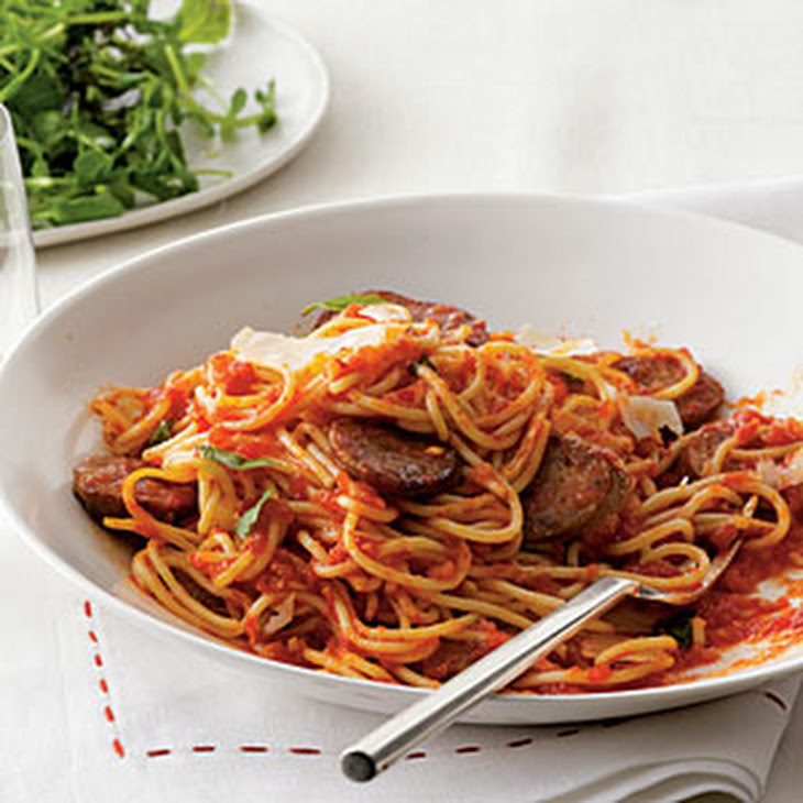 Easy Spaghetti With Tomato Sauce Recipes — Dishmaps