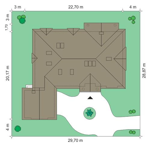 Rezydencja Parkowa 3 - Sytuacja