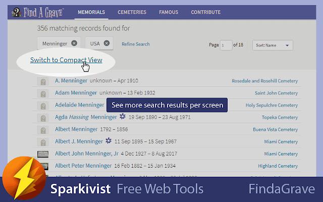 Sparkivist Web Tools