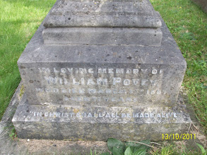 Photo: 9-William Povey, died March 7th 1887 aged 71 years