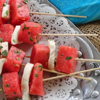 Watermelon Mozzarella Salad - Perfect Treat for Summer Recipe
