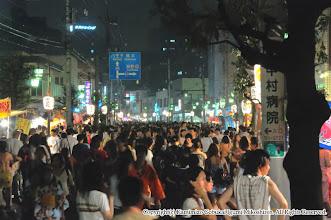 Photo: 【平成20年(2008) 宵宮】  雨もすっかりあがり、例年通りの大盛況の宵宮の夜。