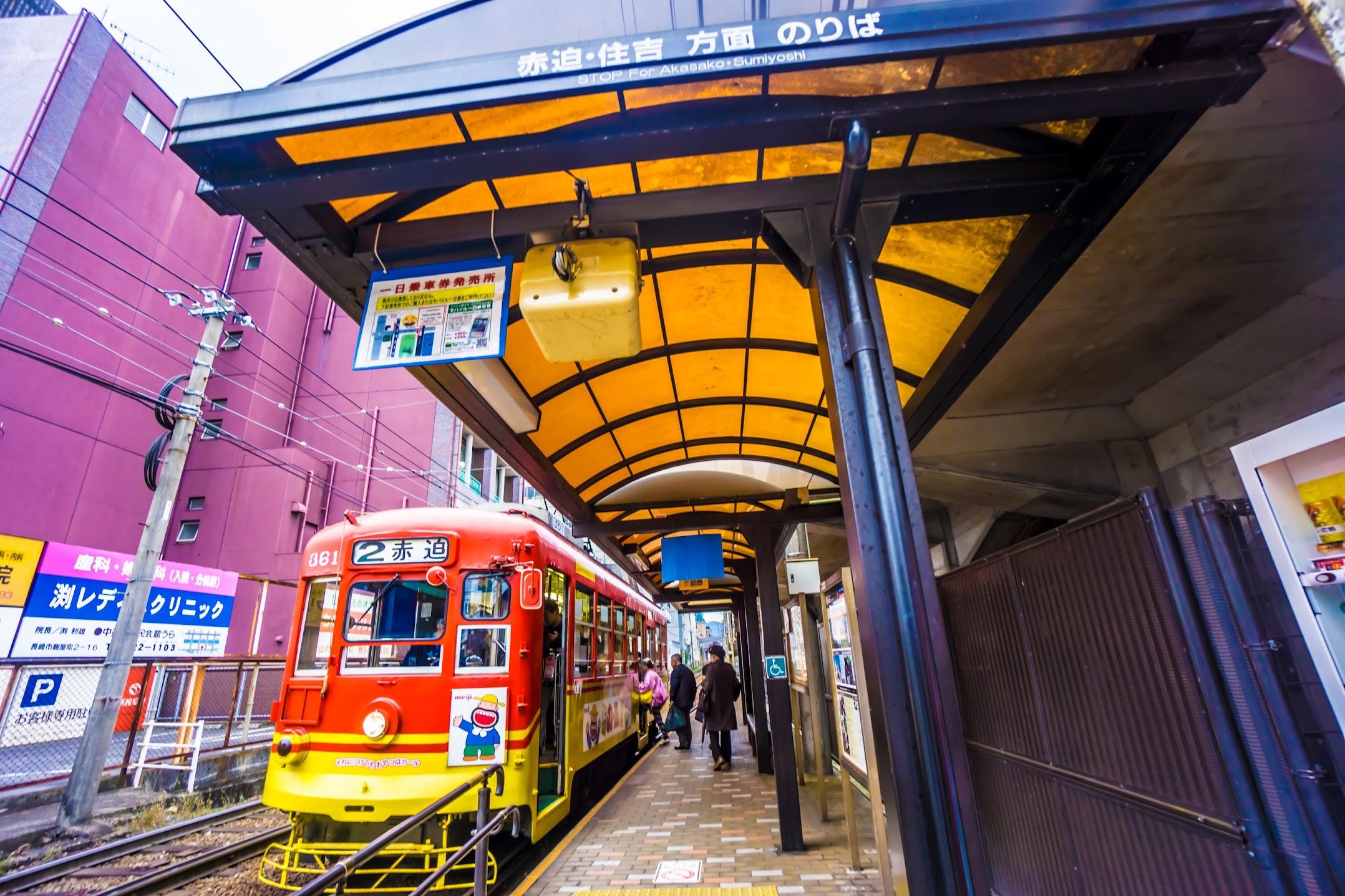長崎 路面電車1