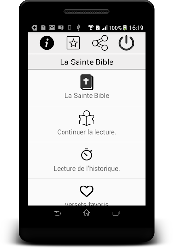 Holy Bible KJV - French free