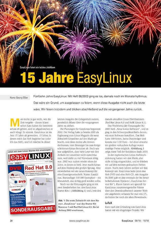 EasyLinux- screenshot