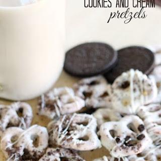 Cookies and Cream Pretzels