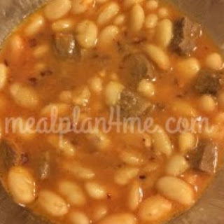 Turkish White Bean & Lamb Stew (Kuru Fasulye)