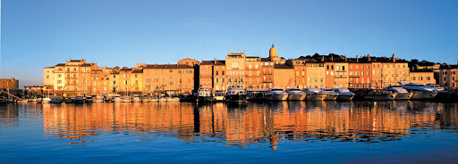 St. Tropez is known for both the old port and its beautiful beaches.