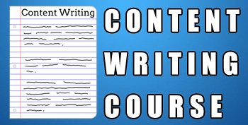 Content Writing Course Banner