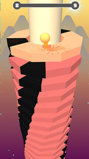 Helix Stack Ball Games : Jump Bouncing Balls 3D apktreat screenshots 2