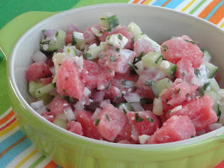 Dog-days Watermelon Salad Recipe