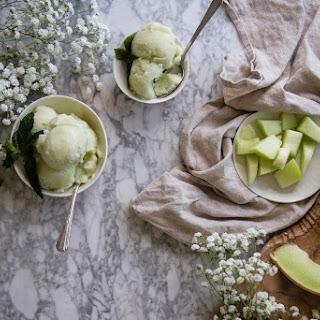 Jasmine-Honeydew Sorbet // a Cuisinart Giveaway! Recipe