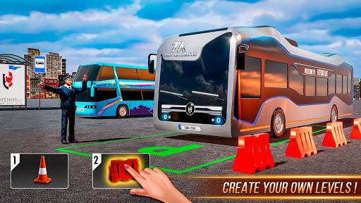 Modern Bus Drive 3D Parking new Games-FFG Bus Game androidiapk screenshots 1