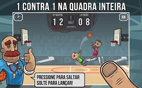 Basketball Battle (Basquete): miniatura da captura de tela
