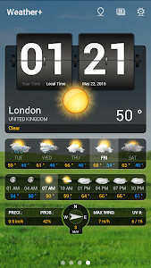 Weather+ Free screenshot 0
