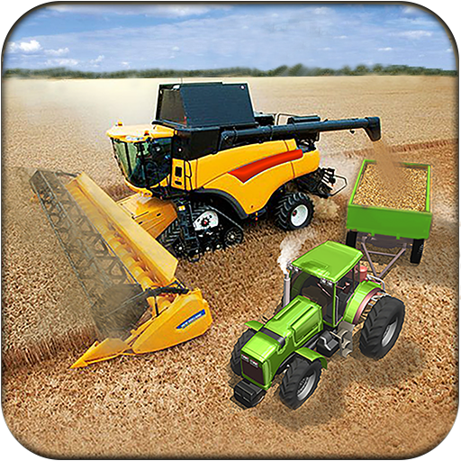 Real Tractor Farming Harvester Game 2017