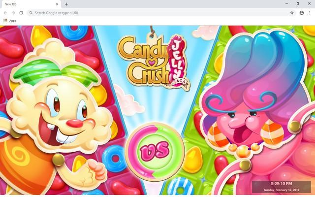 Candy Crush Saga Wallpapers New Tab