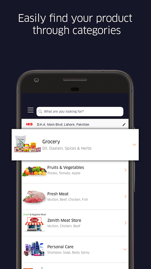 GrocerApp - Online Grocery Delivery- screenshot