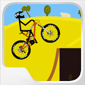 Uphill Bike Stunt