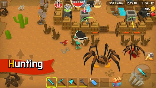 Mine Survival MOD Apk (Free Shopping) 4