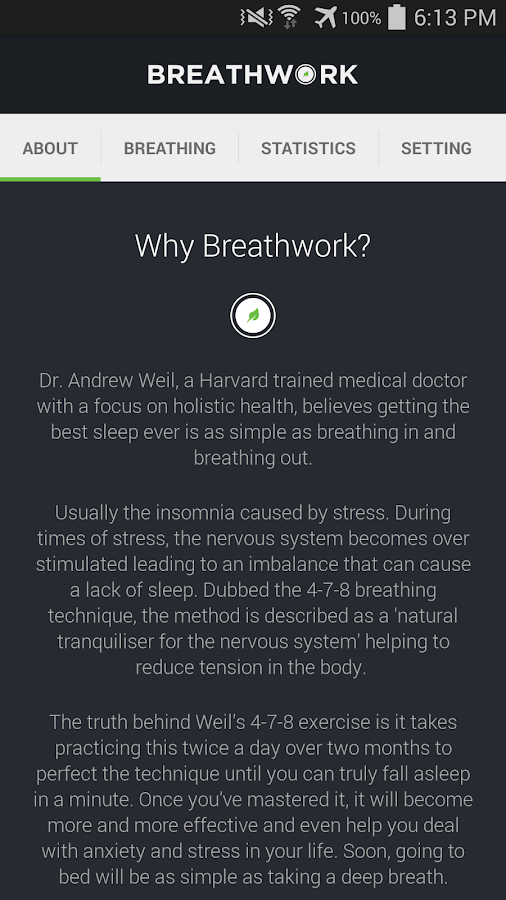 Breathwork 4 7 8 breathing android apps on google play breathwork 4 7 8 breathing screenshot ccuart Gallery