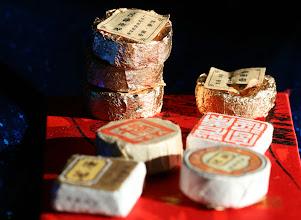 Photo: Шу пуэр сяо бин (маленькие диски и кубики)