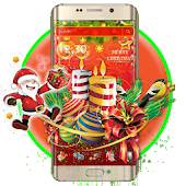 Merry Christmas Launcher Theme