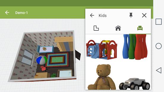 Kids Room Design - náhled