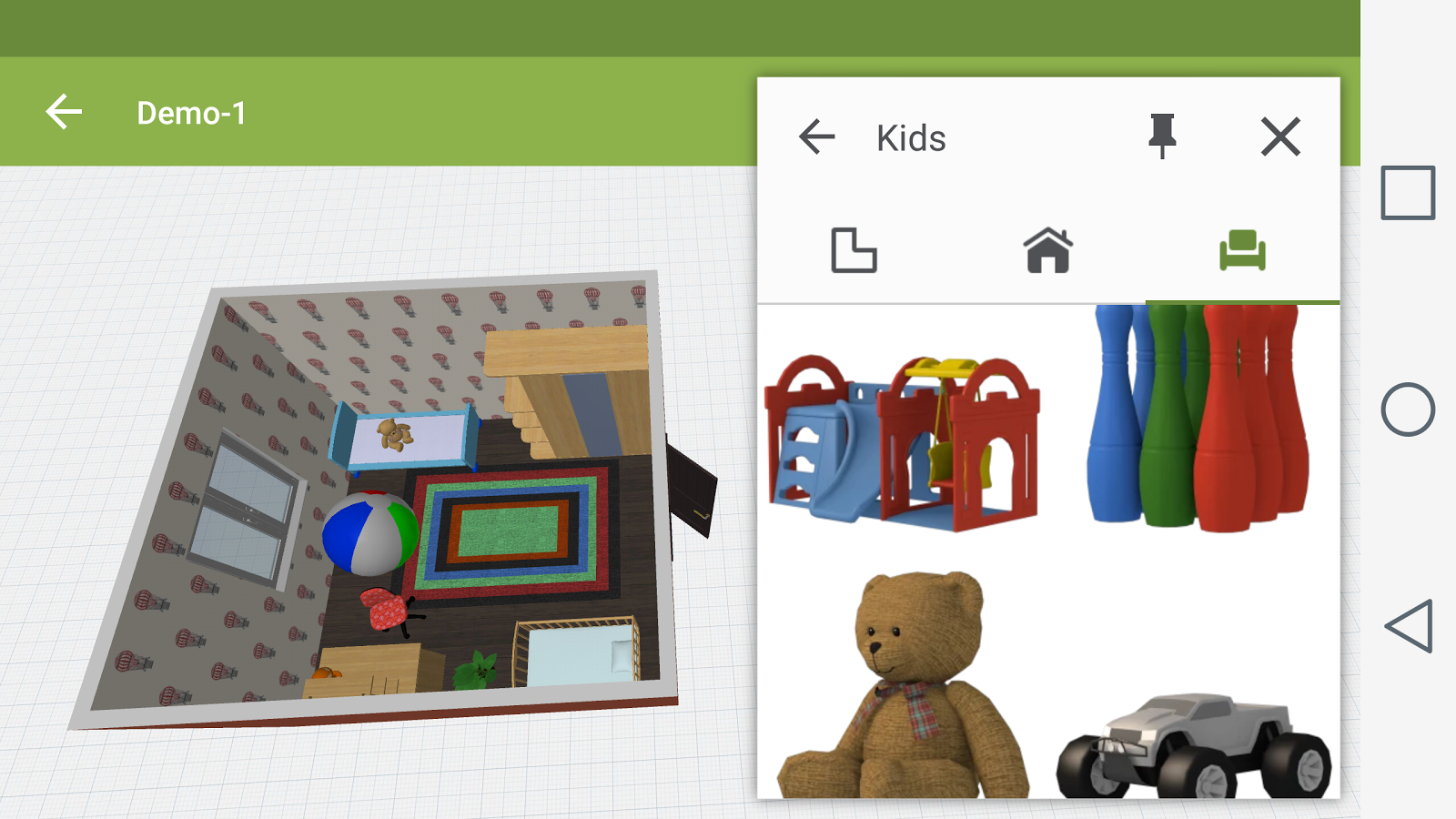 Kids room design android apps on google play for Room design game app