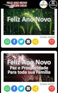 Feliz Ano Novo Fé em Deus - náhled