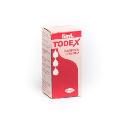 Tobramicina + Dexametasona Todex 0,3%-0,1% 5ml Oftalmi