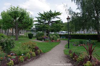 Photo: Un jardin dans la ville de Briare
