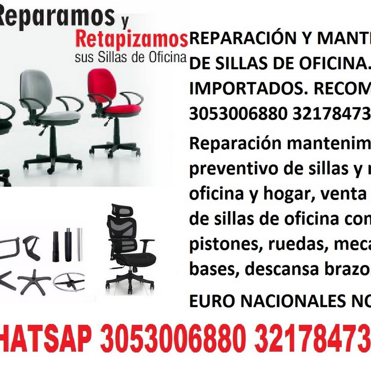 SILLAS DE OFICINA REPARACIÓN Y MANTENIMIENTO EN CALI SILLAS DE ...