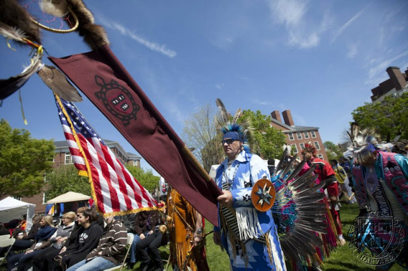 Photo: Harvard Powwow at The Harvard University 20th Arts First Festival was held in Radcliffe Yard.   Rose Lincoln/Harvard Staff Photographer