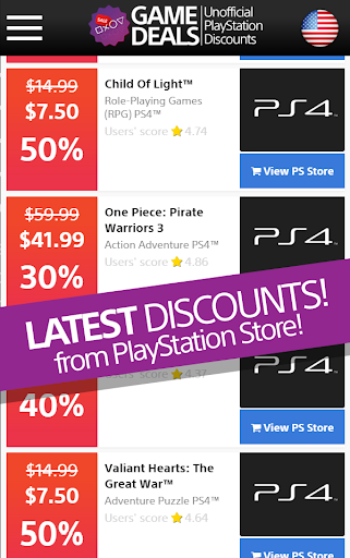Sale PlayStation Store No Ads
