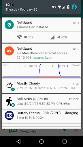 NetGuard - no-root firewall 2.283 screenshots 5