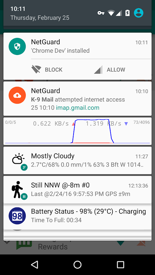 NetGuard - no-root firewall- screenshot
