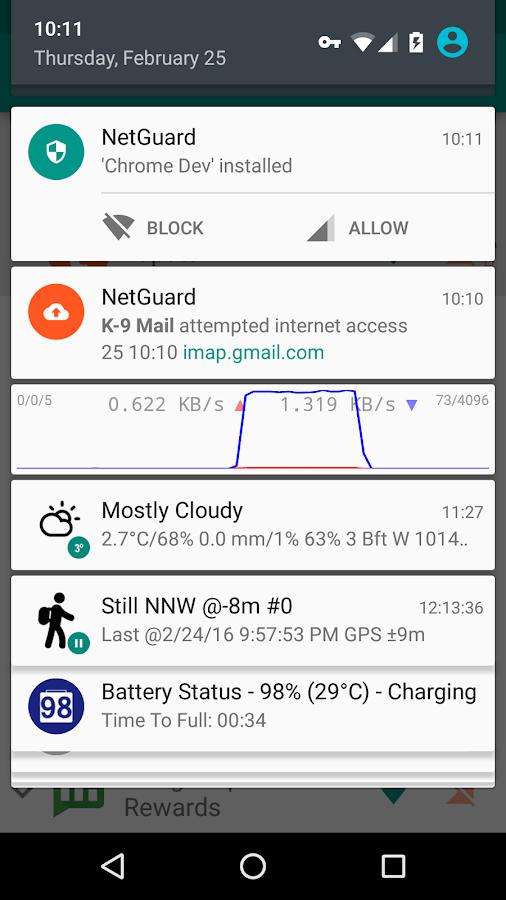 NetGuard - no-root firewall- tangkapan layar