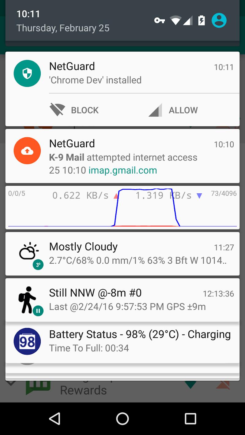 NetGuard - no-root firewall Screenshot 4