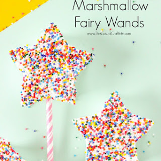 Marshmallow Fairy Wands.