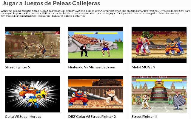 Juegos de Peleas Callejeras | AppBack.pw