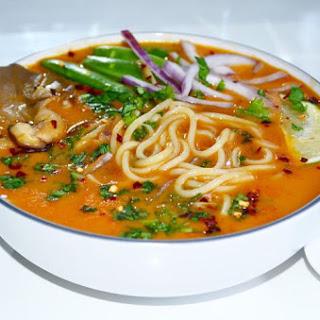 Thai Coconut Curry Soup.