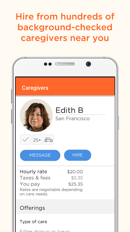 CareLinx: In-Home Senior Care- screenshot