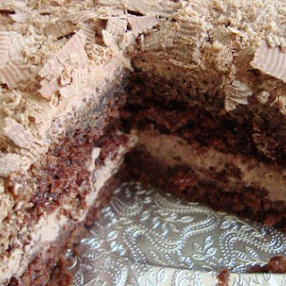 Chocolate Buttermilk Cake (Ingrid's Chocolate Cake) With Chocolate Frosting