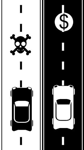 Couple Cars Drive